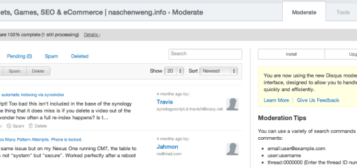 Wordpress commenting via Disqus
