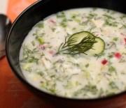 Окрошка (летний холодный суп)