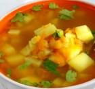 Овощной суп.