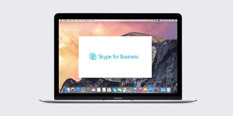 how to turn on skype video mac