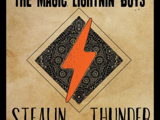 Stealin Thunder CD cover, courtesy of Independent Music Promotions