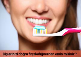 doğru diş fırçalama