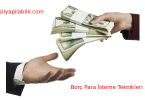 borç para nasıl geri istenir