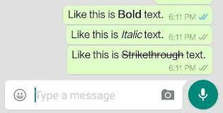 WhatsApp Mesaj Özellikleri