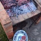 Grilled Lamb Chops, Mama Ía