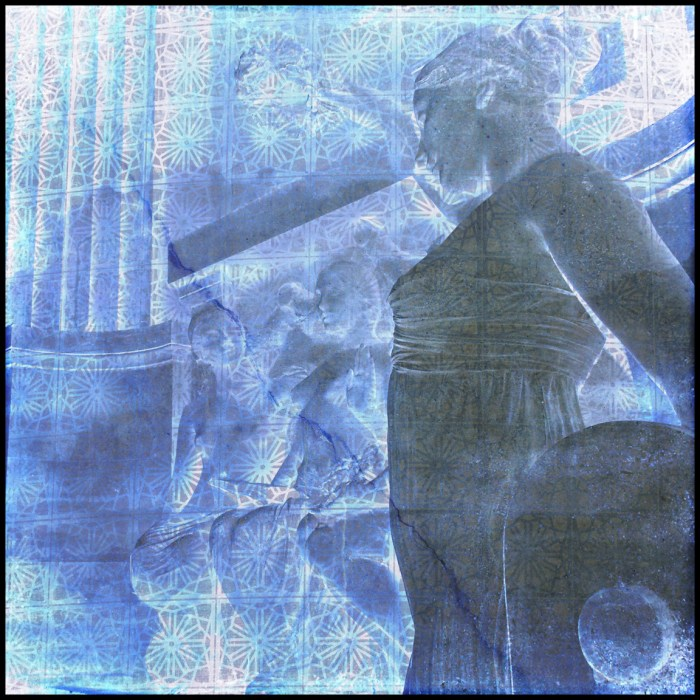 Natasha Forder Paris Pantheon Statue