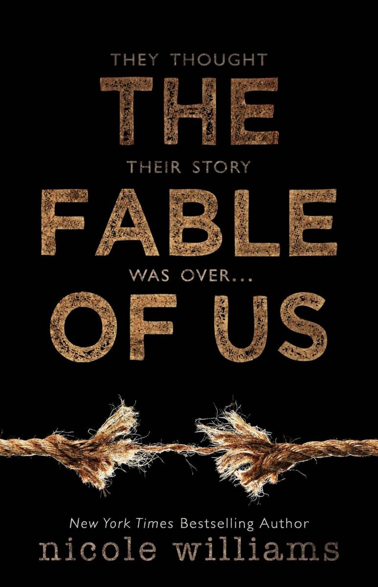 BOOK REVIEW: The Fable of Us by Nicole Williams