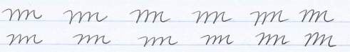 mmm handwriting practice