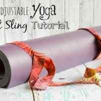 Adjustable/Universal Fit Yoga Mat Carrier Sling Strap Tutorial