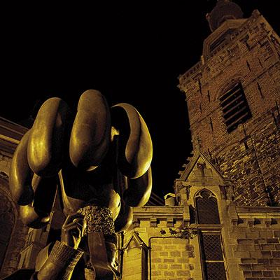 Statue du Gille de Binche