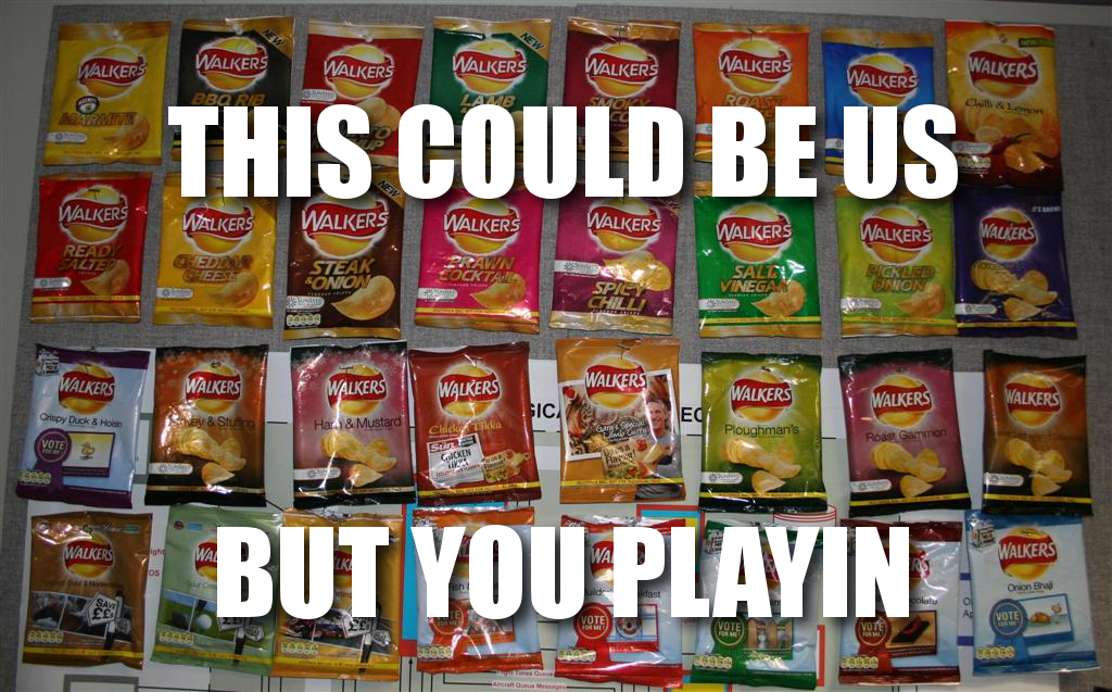 Oh how I wish we had the Walker's flavors in the US