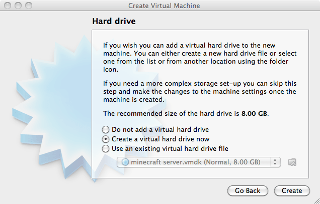 how to setup a machine using oracle virtualbox
