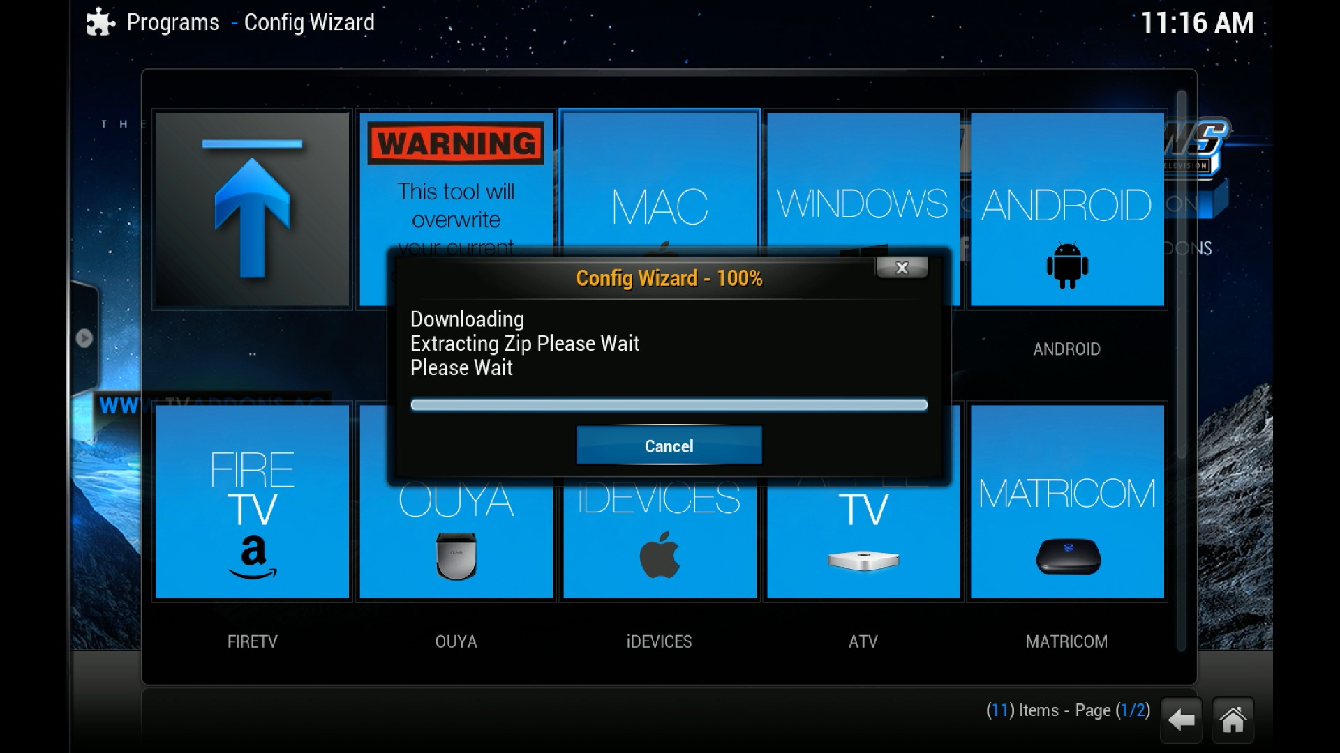 VIDEO – How To Install The 1Channel Add-on In Kodi, (XBMC), For iOS 8 8.1