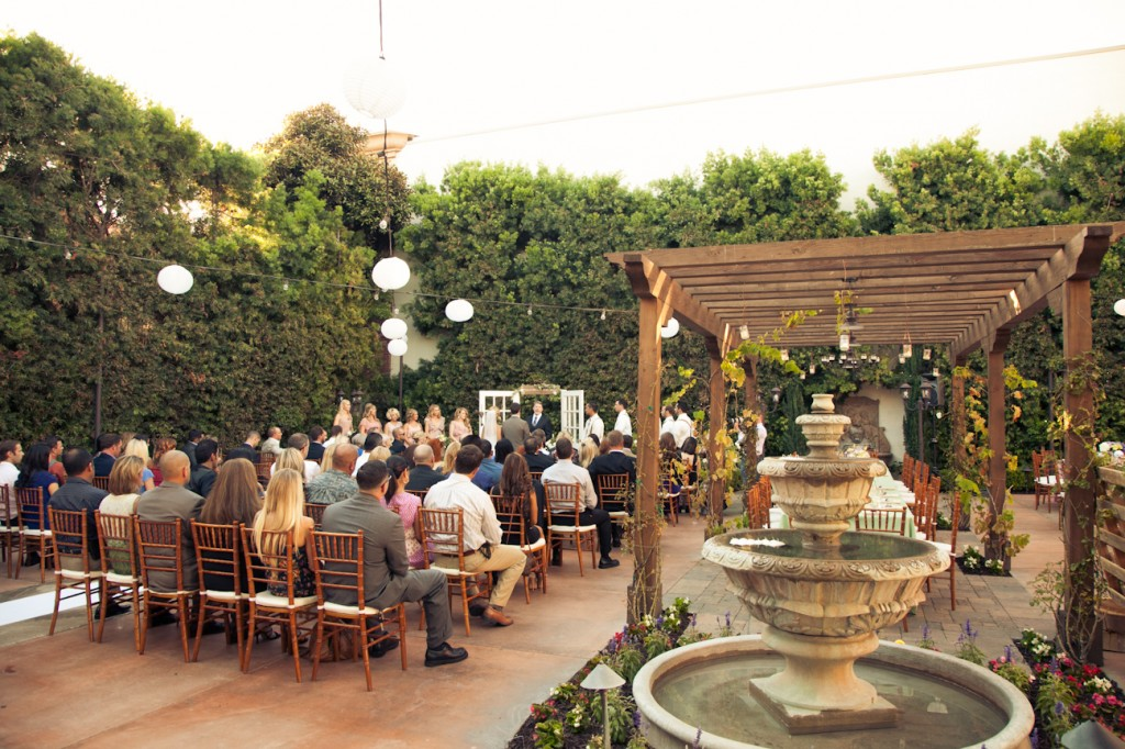 Tanner Sarah Franciscan Gardens Amazing San Juan Outdoor Wedding Weddings Orange County