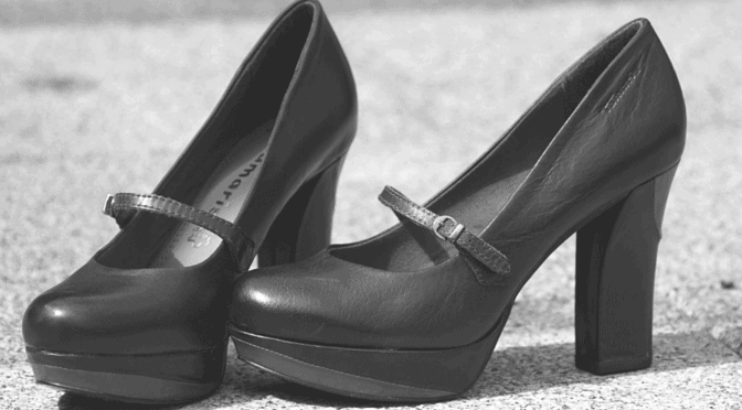 Gender Equality in the Workplace Shoes