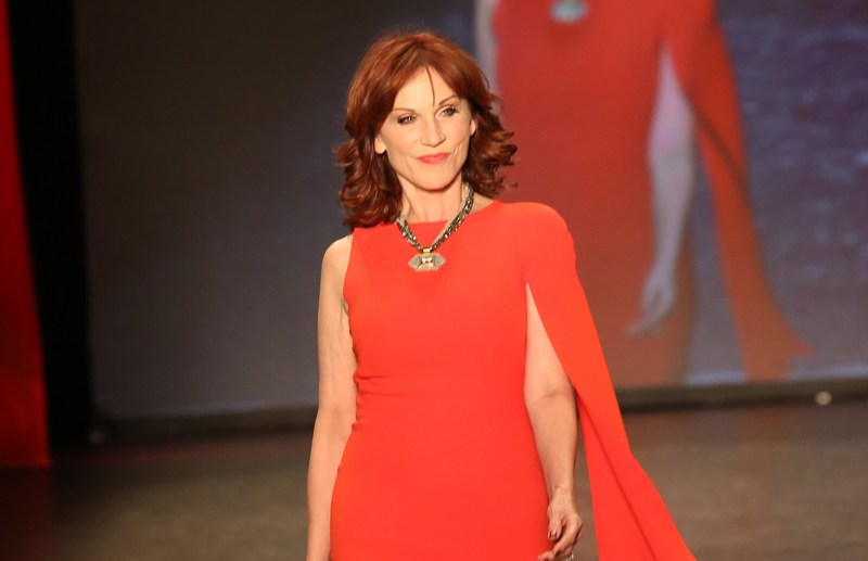 The American Heart Association's Go Red For Women Red Dress Collection 2016 Presented By Macy's Runway at Fashion Week in NYC  Pictured: Marilu Henner Ref: SPL1225889  110216   Picture by: Richie Buxo / Splash News  Splash News and Pictures Los Angeles:	310-821-2666 New York:	212-619-2666 London:	870-934-2666 photodesk@splashnews.com