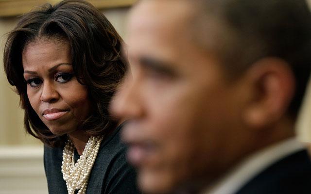 Barack Michelle Divorce Trip F