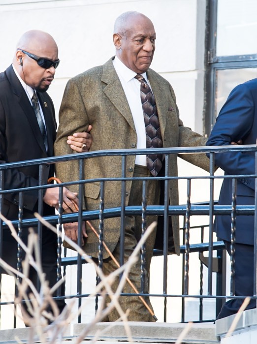 Bill Cosby arrives at Montgomery County Courthouse in Norristown, PA