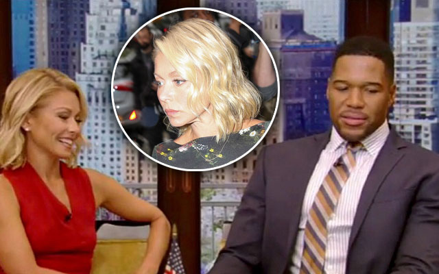 kelly ripa returns live F