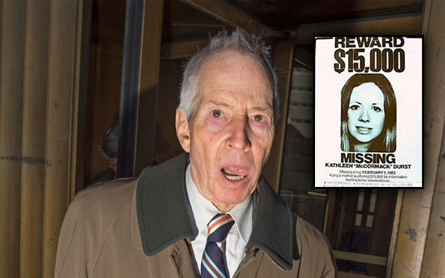robert durst prison time F