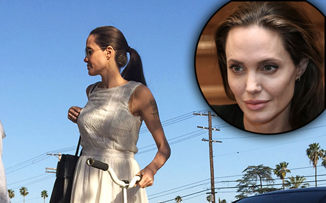 angelina jolie anorexia fears F