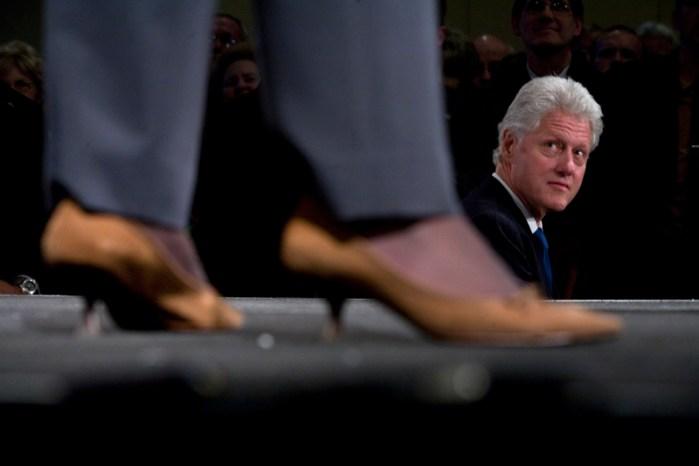Bill Clinton Hosts DC Fundraiser For Hillary Clinton