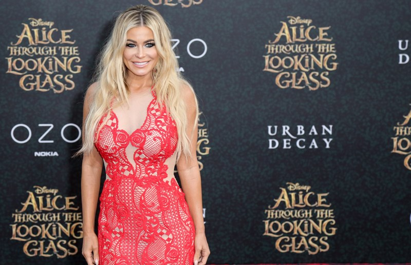 Carmen Electra attends the red carpet premiere of Disney's 'Alice Through The Looking Glass' at the El Capitan Theatre in Hollywood, California.  Pictured: Carmen Electra Ref: SPL1289849  230516   Picture by: London Entertainment/Splash News  Splash News and Pictures Los Angeles:	310-821-2666 New York:	212-619-2666 London:	870-934-2666 photodesk@splashnews.com