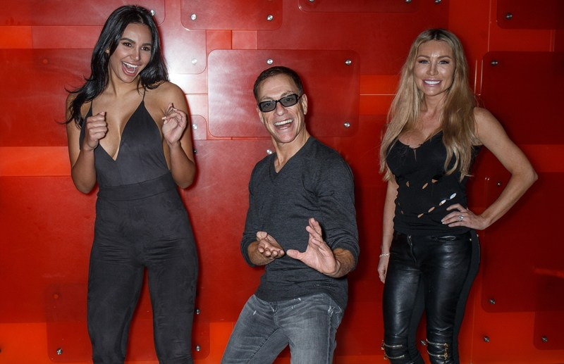 Jean-Claude Van Damme photo call and press conference in Sydney. Jean-Claude Van Damme was sweating profusely as he apologised to the Australian media for his previous interview walk-out.   Pictured: Jean-Claude Van Damme Ref: SPL1335084  220816   Picture by: Brandon Voight / Splash News  Splash News and Pictures Los Angeles:	310-821-2666 New York:	212-619-2666 London:	870-934-2666 photodesk@splashnews.com