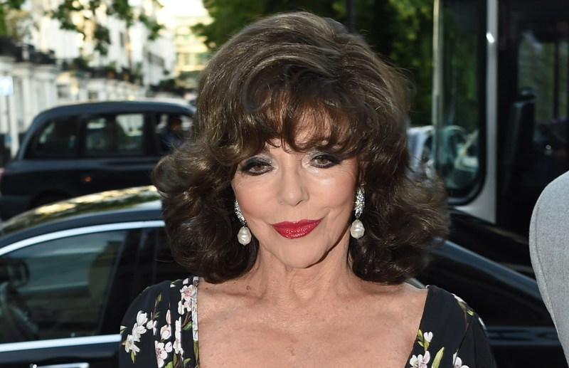 Victoria & Albert summer party at the V&A museum in london  Pictured: Joan Collins Ref: SPL1307109  230616   Picture by: Neil Warner / TGB / Splash News  Splash News and Pictures Los Angeles:	310-821-2666 New York:	212-619-2666 London:	870-934-2666 photodesk@splashnews.com