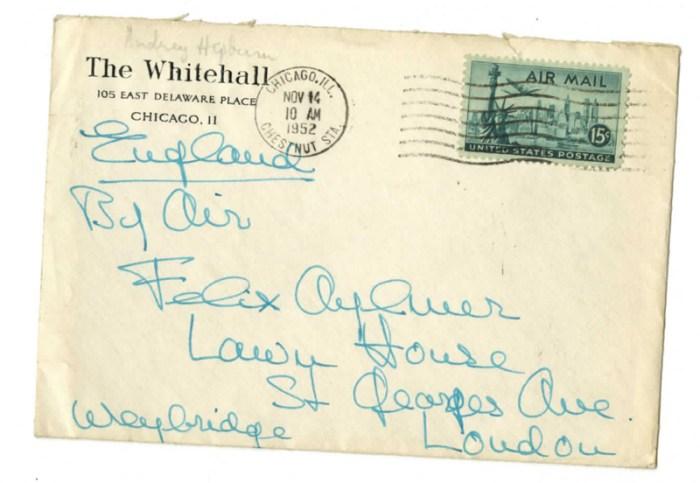 audrey hepburn love life letters 2