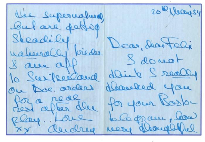 audrey hepburn love life letters 5