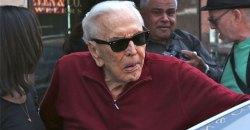 kirk douglas health 99 years old