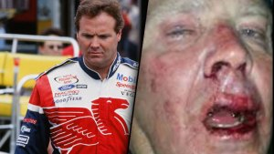mike wallace nascar attack beaten rascal flatts