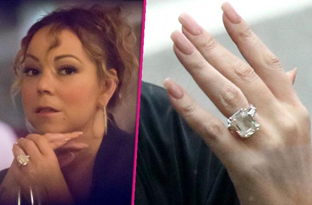 mariah carey engagement ring