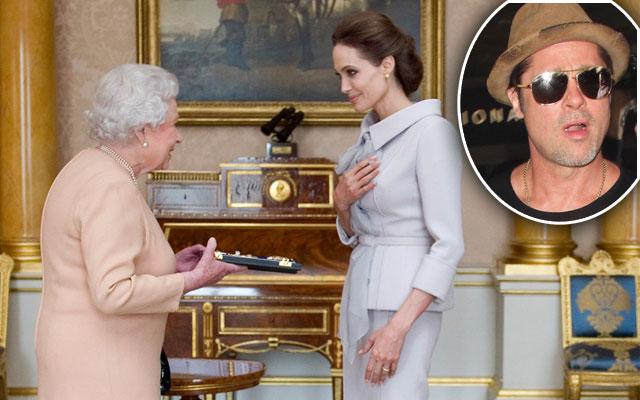 angelina jolie brad pitt divorce london britain