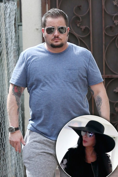 *EXCLUSIVE* Chaz Bono looks very casual while out in Beverly Hills