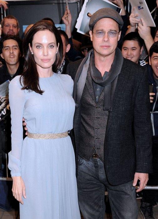 FILE: Brad Pitt and Angelina Jolie