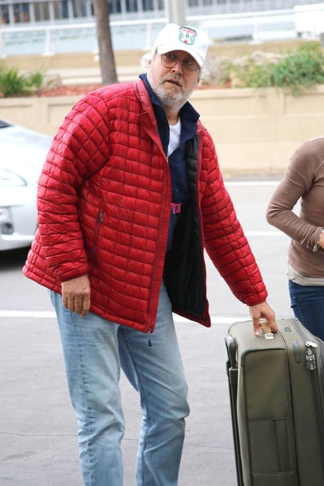 EXCLUSIVE: **PREMIUM EXCLUSIVE RATES APPLY** Chevy Chase is seen for the first time since he reportedly entered a Minnesota rehab facility.