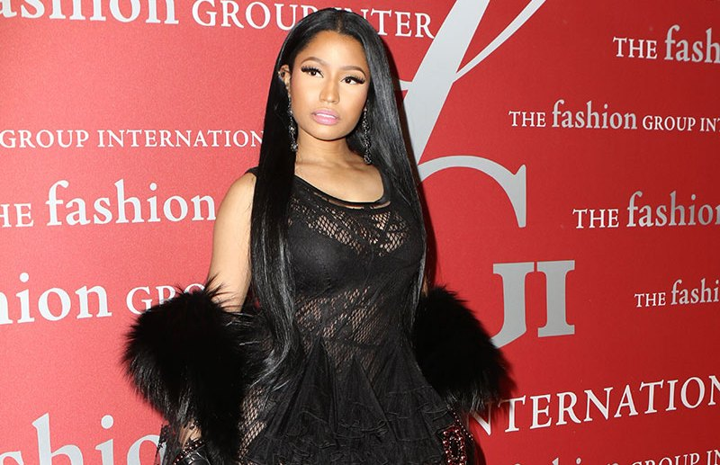 Nicki Minaj attends 2016 Fashion Group International Night Of Stars Gala with honoree Riccardo Tisci, in New York City, New York.  Pictured: Nicki Minaj Ref: SPL1381138  271016   Picture by: Nancy Rivera / Splash News  Splash News and Pictures Los Angeles:310-821-2666 New York:212-619-2666 London:870-934-2666 photodesk@splashnews.com