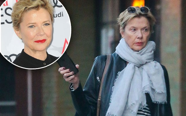 annette bening no makeup free now 2016