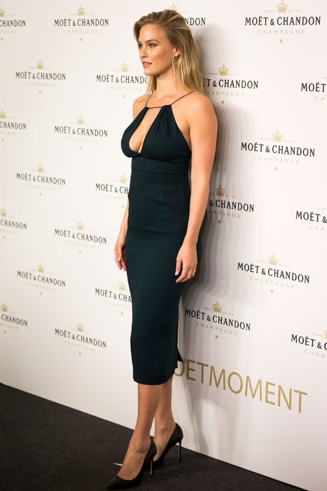 Bar Refaeli attends the 'Moet & Chandon' New Year's Eve party in Madrid