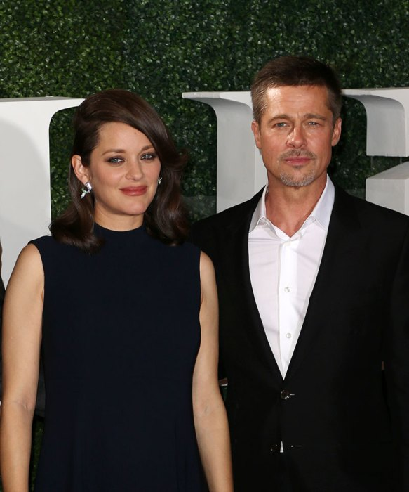 Celebrities seen on the red carpet for the premiere of 'Allied' in Los Angeles