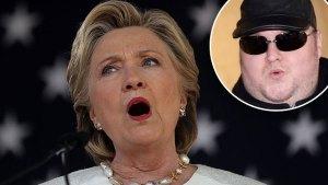 hillary clinton kim dotcom wikileaks threat