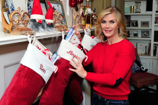 Alison Sweeney Gettin Into The Holiday Spirit