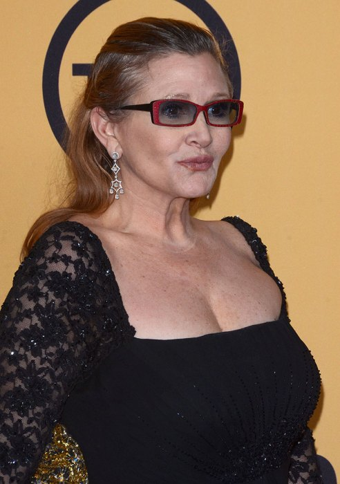 FILE – Carrie Fisher 1956 – 2016