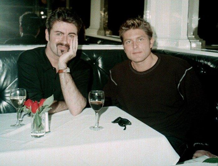 George Michael and boyfriend