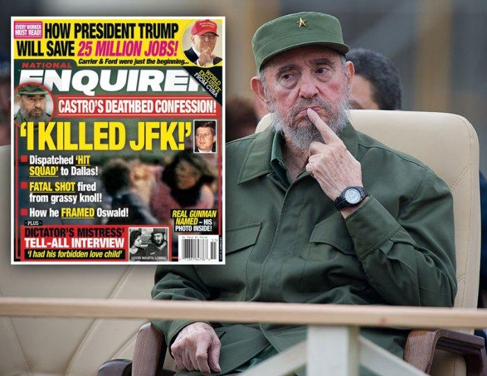 Former Cuban President Fidel Castro atte