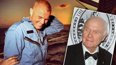 john glenn dead astronaut senator