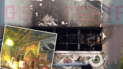 oakland ghost ship fire photos video