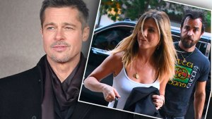 brad pitt jennifer aniston justin theroux